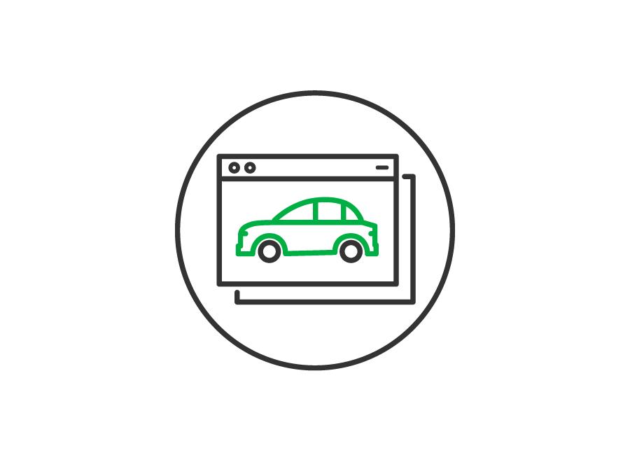 車両検索機能付WEBサイト
